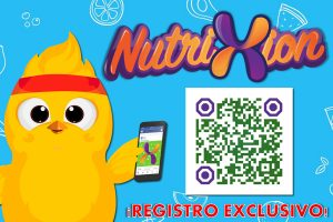 NUTRIXION app interactiva con metodologia pedagogica exclusiva
