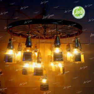 lámpara de aro de bicicleta
