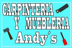 Carpintería y mueblería Andy's